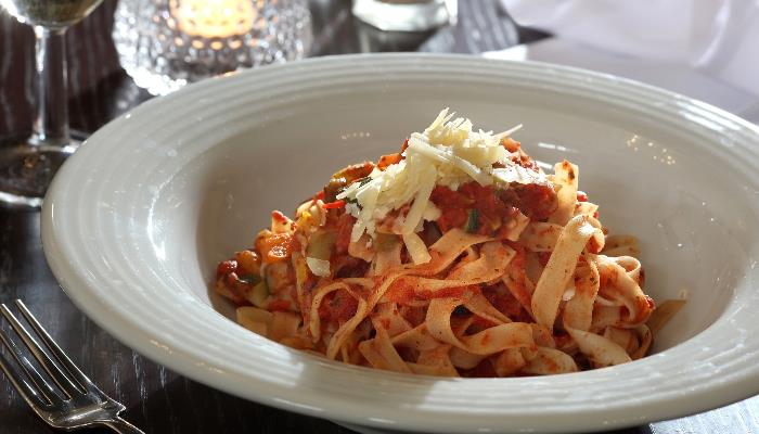 A Delicious Pasta Dish at The Thurrock Hotel
